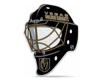 Vegas Golden Knights NHL Die Cut Helmet Pennant