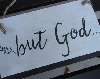 Christian maison Decor - mais le signe de Dieu - Bible versets, écriture, mémoire versets Christian Wall Art