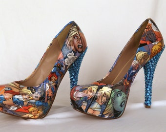 Power Girl comic book heels