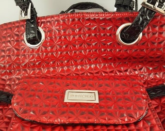 Jimmy Chow red tote bag