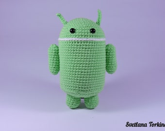 Android Amigurumi (big size)