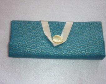Pockets for barrettes and elastics Asian fabric