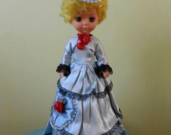 Vintage Musical Spinning Pose Doll