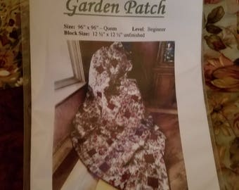 Quilt Pattern - Garden Patch