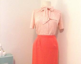 Vintage (1960s-1980s) Pencil Skirt