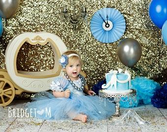 Cinderella costume, princess custom costume 18 months