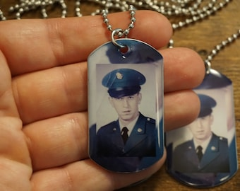 Buy 3 get 1 FREE Memorial photo Necklaces. Loss of father, loss of grandpa, loss of husband, loss of mother, loss of mom, loss of brother,
