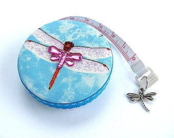 Measuring Tape Flying Dragonflies Retractable Tape Measure