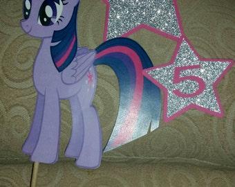 My little pony birthday prop