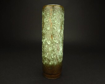 Vintage MCM West German Fat Lava Vase Designed By Jopeko Keramik Circa 1960's