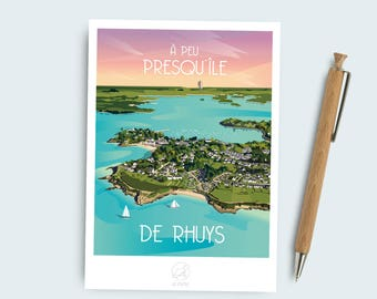Postcard Rhuys peninsula