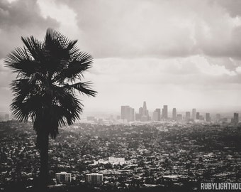 Los Angeles Photography, Griffith Park and Downtown Stretched Canvas
