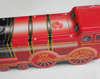 Red Rocket 306 Sweets Lollies Tin
