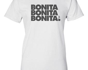 Bonita Apple Bum Custom Women's Ultra Cotton Gildan T-Shirt-White