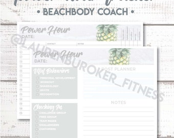 Beachbody Coach - Power Hour Tracker