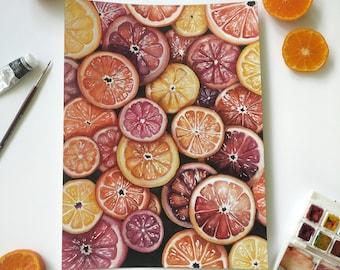 Citrus - Art Print