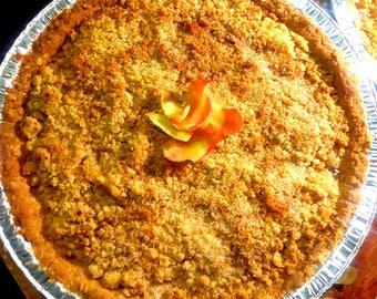 Mississippi Apple Crumble Pie