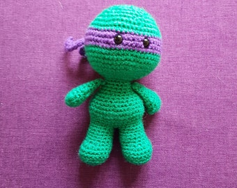 Turtles doll, tmnt doll, crochet doll, collectible doll, marvel doll, geeky gift