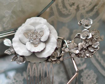 LUCILLE | Art Nouveau Inspired hair comb