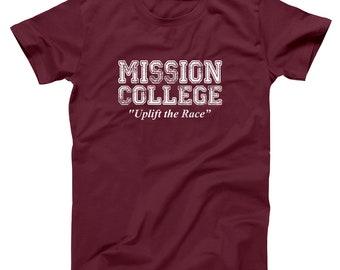 Mission College School Daze Retro 80S Movie Basic Men's T-Shirt DT0600