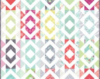 Geode Quilt Kit in Grand Canal Kate Spain