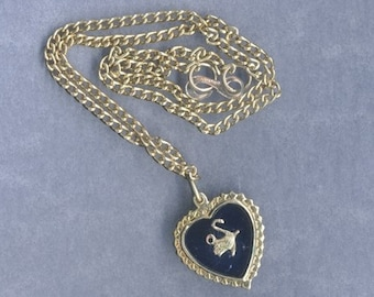 10 Vintage Goldtone Novelty Swan Necklaces Use as Pendants or Charms - Bargain - 2x As Much for Same Price!