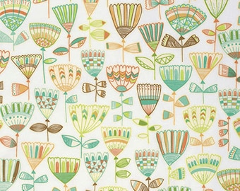 Highline by Erin McMorris for Free Spirit - Hudson - Leaf - 1/2 yard Cotton Quilt Fabric 916