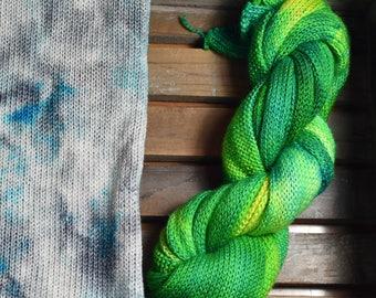 Sparkle Sock Blank - Lush Rainforest - 100g - Merino/Nylon - 4ply