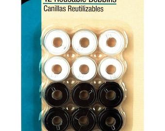 Dritz 12 Reusable Bobbins - 940