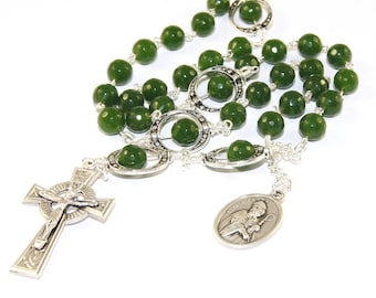 Saint Patrick's Breastplate Christian Rosary, Anglican - Episcopal - Protestant - Lutheran Prayer Beads
