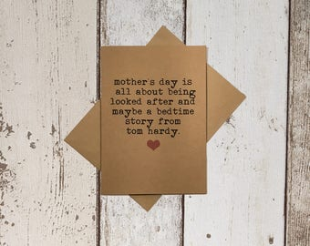 Mother's Day Card - Kraft - Mother's Day - For mum - Kraft mother's card - card for mum