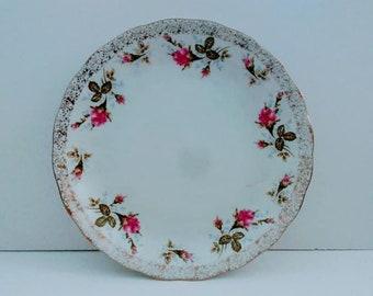 vintage rosenberg plate, vintage plate, rosenberg plate, rosenberg china, vintage china, vintage china plate, vintage dinner plate,  vintage