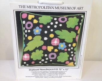 Starburst Needlepoint Kit Erica Wilson, Metropolitan Museum Collection