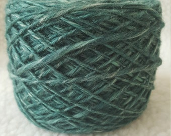 hand spun merino combed top singles yarn dk weight 4.0 ounces