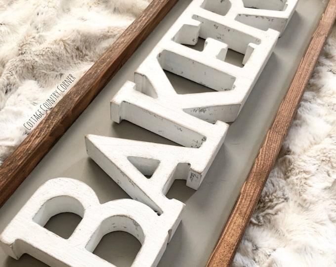 Bakery sign - farmhouse decor - Wall Decor - farmhouse kitchen - farmhouse kitchen decor - kitchen decor - home decor
