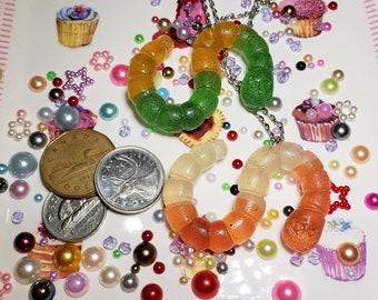 Gummy Worm Necklace