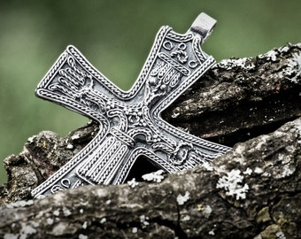 Viking cross pendant from Trondheim
