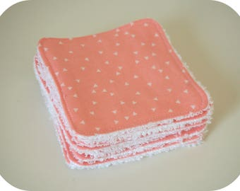 Washable cotton and Terry cloth