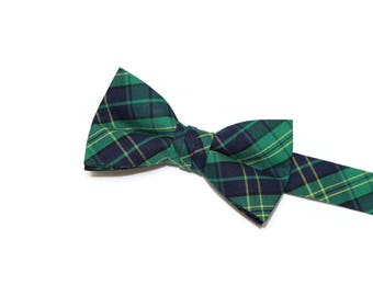 Boys Bow Tie~Boys Bow Tie~Boys Plaid Bow Ties~Cotton Bow Tie~Church Tie~Ring Bearer~