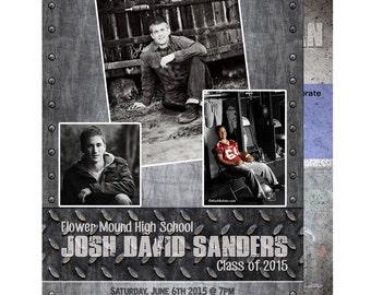 high school graduation announcements, graduation announcement cards, high school graduation invitations, graduation party invitations