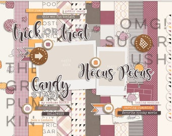 Sugar Patch - Digital Scrapbooking Kit