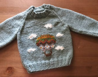 Fly Me Away Sweater