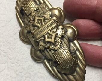 Large Brooch ~ Pin ~ Sash Pin ~ Great Color