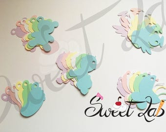10 TAG baptism Birth at 1.50 communion confirmation Wedding Favors simple tickets different colors and forms for writing creation SweetLabShop
