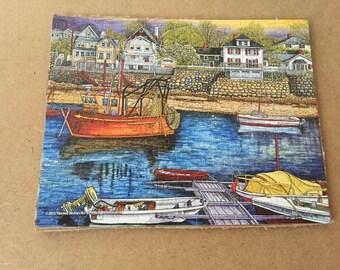 Rock port, Maine fishing village