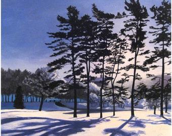 Pines Giclee Print