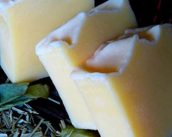Buttermilk & Raw Honey Soap Bar
