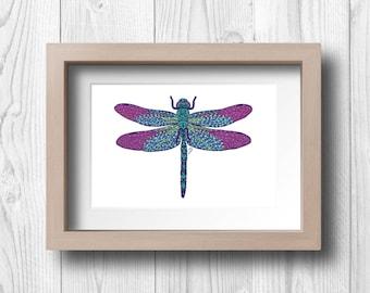 Dragonfly - Printable Wall Art