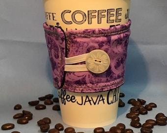 Purple Coffee Cozy