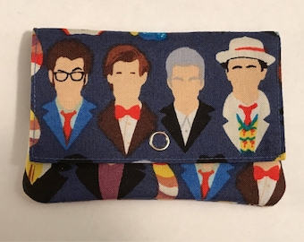 Doctor Who Wonder Wallet- Fabric Wallet